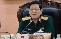 Bộ trưởng Quốc phòng Việt Nam điện đàm với Bộ trưởng Quốc phòng LB Nga