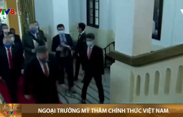 Ngoại trưởng Mỹ đến Hà Nội, bắt đầu chuyến thăm chính thức Việt Nam