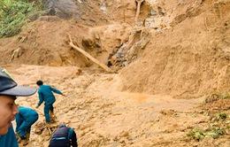 Thời tiết cản trợ việc tìm kiếm người mất tích tại Quảng Nam