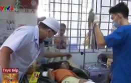 Khẩn trương cấp cứu nạn nhân sạt lở núi tại Nam Trà My