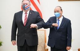 Thủ tướng Nguyễn Xuân Phúc và Ngoại trưởng Mike Pompeo nhất trí cần tuân thủ Công ước về Luật Biển