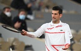 Vòng 3 Pháp mở rộng: Chiến thắng dễ dàng cho Novak Djokovic