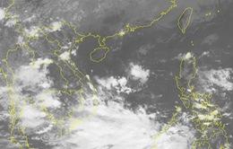 Vùng áp thấp trên Biển Đông có khả năng mạnh lên