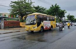 Bất chấp lệnh cấm, xe bus liên tỉnh vẫn vào nội thành Đà Nẵng