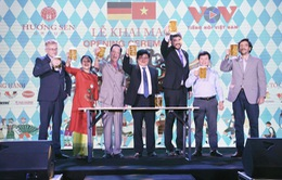 Hào hứng thưởng thức bia Đức tại Lễ hội văn hóa Việt - Đức Kulturfest 2020