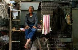 """Người Hong Kong không đủ tiền thuê nhà """"quan tài"""""""