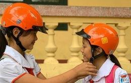 """Nâng cao ý thức đội mũ bảo hiểm cho trẻ em với """"Hành trang an toàn"""""""