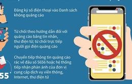 Lập tổng đài 5656 miễn phí nhận phản ánh tin nhắn rác, cuộc gọi rác
