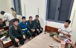 Tàu hàng chìm trên biển, 11 thuyền viên được ứng cứu kịp thời