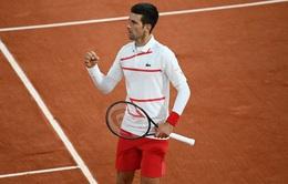 Novak Djokovic lần thứ 10 góp mặt tại bán kết Pháp mở rộng