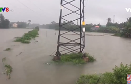 Quảng Nam mưa lớn, cảnh báo xuất hiện lũ