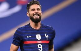 Giroud vượt mặt huyền thoại Platini trong màu áo ĐT Pháp