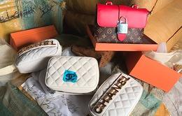 """Chiêu trò mới đưa hàng hiệu """"fake"""" Chanel, LV, Gucci... vào Việt Nam"""