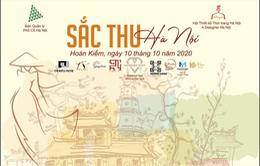 Sắc thu Hà Nội: Tôn vinh nét đẹp áo dài Việt Nam