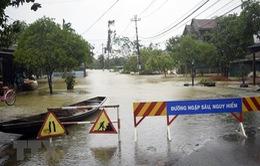 Trung Bộ tiếp tục có mưa rất to đến ngày 13/10