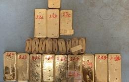 Truy nã 1 đối tượng, truy tìm 7 đối tượng vận chuyển trái phép 51 kg vàng