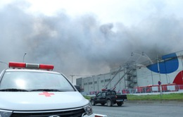 Cháy lớn trong khu công nghiệp Hiệp Phước: Vị trí xảy ra cháy bắt nguồn từ kho đông lạnh
