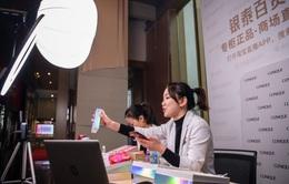 Cơn sốt livestream bán hàng ở Trung Quốc không hề giảm nhiệt