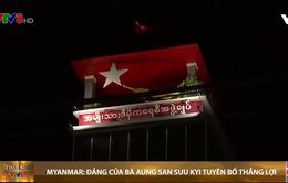 Bầu cử ở Myanmar: Đảng của Bà Aung San Suu Kyi tuyên bố thắng lợi