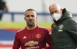 Luke Shaw nghỉ 8 tuần, lỡ 10 trận với Man Utd