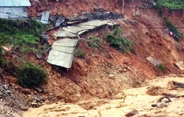 Hạ tầng miền núi Quảng Nam thiệt hại nặng do mưa lũ
