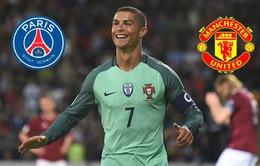 Man Utd đấu PSG trong cuộc đua giành Ronaldo
