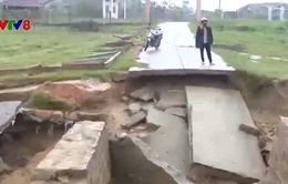 Bình Định khắc phục hậu quả bão số 12