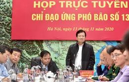 Phó Thủ tướng Trịnh Đình Dũng: Cần khẩn trương thực hiện phòng chống bão số 13