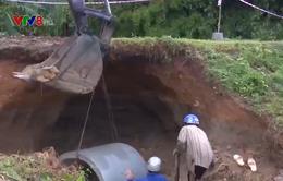 Bình Định khắc phục các công trình sạt lở do bão