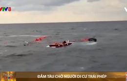 Đắm tàu chở người di cư trái phép
