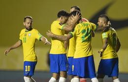 Vòng loại World Cup 2022 khu vực Nam Mỹ: ĐT Brazil vất vả giành chiến thắng trước Venezuela