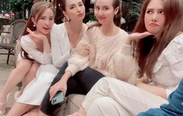 Lã Thanh Huyền đón sinh nhật muộn tại biệt thự sang chảnh cùng hội bạn thân