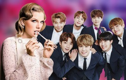 """People's Choice Awards 2020: BTS thắng lớn, Taylor Swift suýt """"trắng tay"""""""