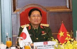 Sớm triển khai kế hoạch hợp tác quốc phòng Việt Nam - Nhật Bản