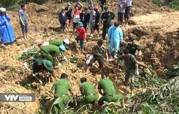 Đã tìm thấy thi thể nạn nhân trong vụ sạt lở đất tại xã Trà Tân, Bắc Trà My