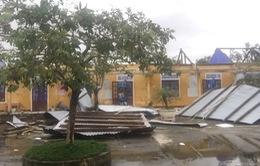 Huy động tổng lực khắc phục hậu quả bão số 13