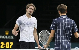 ATP Finals: Alexander Zverev tiếp tục thất bại trước Daniil Medvedev