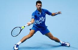 ATP Finals: Djokovic thắng dễ trận ra quân trước Schwartzman