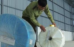 Thu giữ hơn 7 tấn vải kháng khuẩn nhập lậu để làm khẩu trang