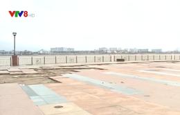 Đà Nẵng: Nhiều tuyến đê, kè biển hư hỏng sau bão số 13