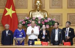 Phó Thủ tướng Trương Hòa Bình tiếp đoàn người có công tỉnh Kon Tum