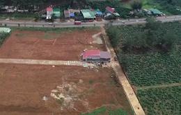 Loạn tách thửa, phân lô bán nền tại Lâm Đồng
