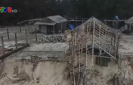 Quảng Trị: Nhiều tuyến đê biển sạt lở nghiêm trọng