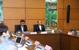 Thủ tướng Nguyễn Xuân Phúc: Mưa thối đất thì không còn kết cấu nào chịu được