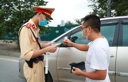 CSGT Hà Nội tăng cường xử lý xe kinh doanh vận tải vi phạm