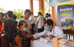 Dược Hậu Giang tích cực chăm sóc sức khỏe người dân sau lũ