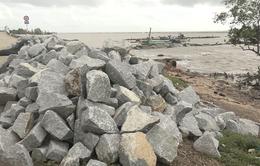 Đê biển Tây sạt lở nghiêm trọng mùa mưa bão