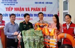 Phân bổ tiền cứu trợ các tỉnh bị ảnh hưởng mưa lũ