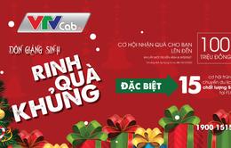 Đón Giáng sinh – Rinh quà khủng từ VTVcab