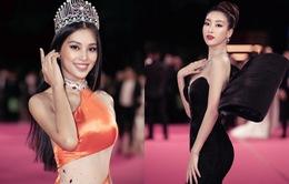 Tiểu Vy, Đỗ Mỹ Linh đọ trang sức bạc tỷ trên thảm đỏ Chung kết toàn quốc Hoa hậu Việt Nam 2020